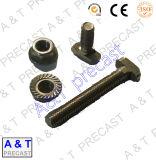 Acciaio al carbonio, acciaio inossidabile/T quadrato delle parti cape del bullone con la noce Hex e la rondella