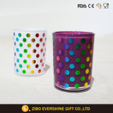 стеклянная чашка 12oz с покрашенным печатание фольги