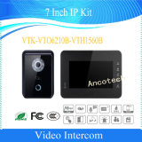 Dahua IPキット7インチの別荘のビデオドアベルの通話装置(VTK-VTO6210B-VTH1560B)
