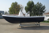 China Aqualand 18feet 5.5m Barco de pesca desportiva / barco de fibra de vidro Barco / Yacht de prazer (180)