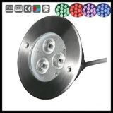 luz de 3W 9W Inground LED Underwter para la fuente de la piscina