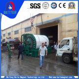 Tipo permanente filtro de Baite /Drum de tambor rotatorio magnético del vacío para la deshidratación magnética de los materiales