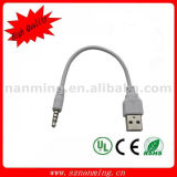 iPod Shuffle 제 4를 위한 USB Sync Charger Adapter Cable