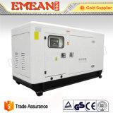 gerador Diesel elétrico da potência Soundproof de 80kVA Weifang