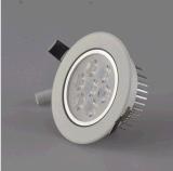 Le plafonnier de DEL, DEL a enfoncé la lumière, DEL Downlight, CE&RoHS
