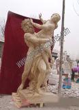 Pietra intagliata scultura antica di scultura di marmo della statua per la decorazione del giardino (SY-X1191)