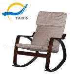 Cadeira de balanço de madeira da curvatura do conforto do estilo de Modren