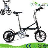 Vélo urbain de banlieusard de mini bicyclette d'alliage d'Al pliage d'une seconde