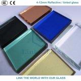 Graues u. dunkles graues reflektierendes/abgetöntes Euroglas mit Cer u. ISO9001 für Glasfenster