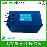 Batteria all'ingrosso del sistema LiFePO4 del vento di 12V 80ah