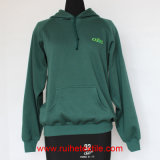Ricamo Logo, Casual Jacket, Brushed Fleece Hoodie per Adults