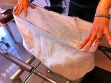 Filtre réfractaire de poche de fibre de verre pour la filtration en aluminium fondue