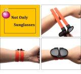 Marca nova Sunglass de dobramento elegante personalizado, partido Sunglass (6825)