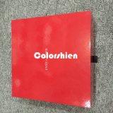標準的なペーパー赤いCosmticの折るパッキングギフト用の箱との