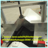 Le découpage de talon en verre de machine de produit de guichet de PVC a vu
