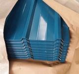 Kleur Met een laag bedekt Materiaal 0.16mm1.2mm van het Dakwerk van het Staal van het Dak Ibr Staal Gegalvaniseerd