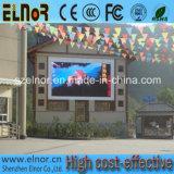 Tela ao ar livre quente do diodo emissor de luz da cor cheia dos produtos P8 SMD de Elnor