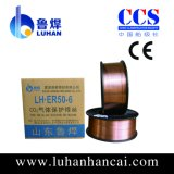 Aws A5.18 CO2 Er70s-6 Schweißens-Draht (0.8-2.0mm)