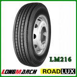 Neumático 11r22.5 11r24.5 295/75r22.5, neumático del carro de Roadlux Longmarch del carro para el mercado de Canadá