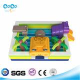 Bouncer gonfiabile LG9034 di tema della rana di disegno dell'acqua dei Cochi