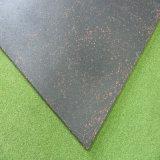 Azulejo de suelo de goma de suelo del patio de goma al aire libre del azulejo