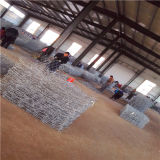 60*80mm Galvanized Hexagonal Wire Mesh Gabion Box