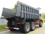 Camion d'extraction du camion à benne basculante de Sinotruk 6*4 50ton -70ton
