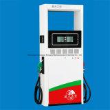 O dobro de enchimento do posto de gasolina da bomba provê de bocal o indicador quatro