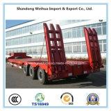 De 3 eixos do caminhão do reboque de Lowbed reboque Semi do fornecedor de China