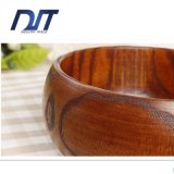 ciotola di riso favorevole all'ambiente di legno rotondo di 22cm grande