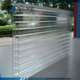 Lexan 3-Wall Polycarbonat PC Höhlung-Vorstand mit UVbeschichtung
