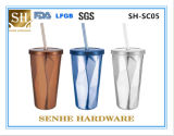 450ml Double Wall Edelstahl Coffee Mug (SH-SC05)