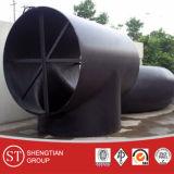 Instalaciones de tuberías de acero Buttweld