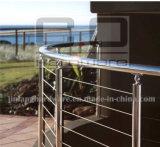 Balustre à main courante en acier inoxydable / système de garde-corps