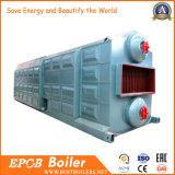 Caldeira de vapor de circulação cheia instalada fácil de carvão do controlo automático