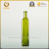quadratische Olivenöl-Flasche der Überwurfmutter-750ml (020)