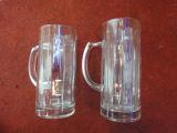 Cristalleria di vetro incisa Kb-Hn09891 della chiavetta della tazza di birra della tazza Nizza di alta qualità