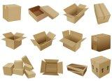 포장은 기계를 만들어서 판지 상자를 위한 절단 주름잡는 기계를 정지한다