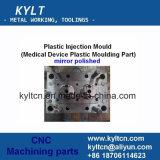 Aluminiumlegierung CNC schnell/schneller Prototyp, der maschinell bearbeitet