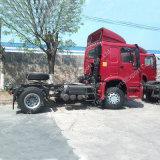 Caminhão do trator de Rhd 4*2 da caixa de engrenagens de Sinotuck HOWO Zf