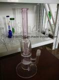 Grüne Farben-Unterseite Pyrex Glas-Wasserrohr mit Perc 8 ''