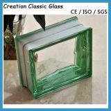 Bloco de vidro colorido