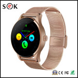 Iosのための防水スマートな腕時計K88hはおよび人間の特徴をもつ、心拍数のモニタのスマートな腕時計の電話IP54腕時計の電話K88hを防水する