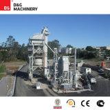 Planta de mezcla de procesamiento por lotes por lotes caliente del asfalto de 140 t/h