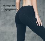 Form-Gymnastik-Kleidung-Eignung-Abnützung-Feuchtigkeit Wicking Dame-Yoga-Hosen