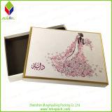 Подгонянная коробка торта бумаги венчания печатание невесты покрашенная