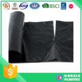 Saco de lixo plástico preto resistente da venda quente