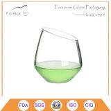 Чашка стекла съемки боросиликата OEM для вина