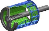 パルプ機械そしてペーパーマシンラインのための1.0/1.5/2.5mのドラムスクリーン