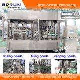 Machine de capsulage de remplissage de lavage d'eau en bouteille en plastique